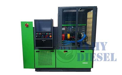 CR825 common rail system test bench for all injector and pump